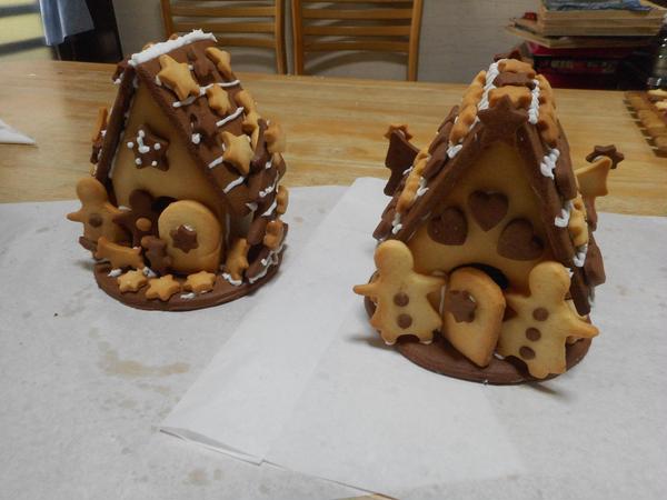クリスマスイベント講座 ヘキセンハウスを作ります
