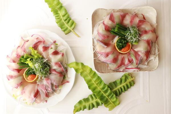 お魚料理は 楽しい盛り付けのコツ満載