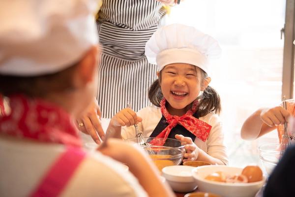 子どもはお料理が大好き!
