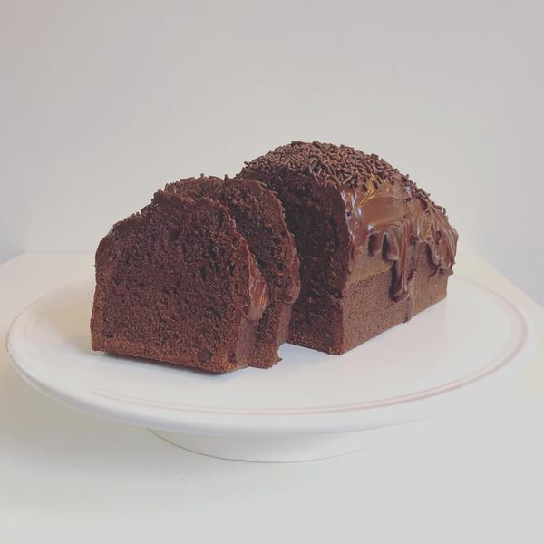 チョコファッジケーキのレッスン。