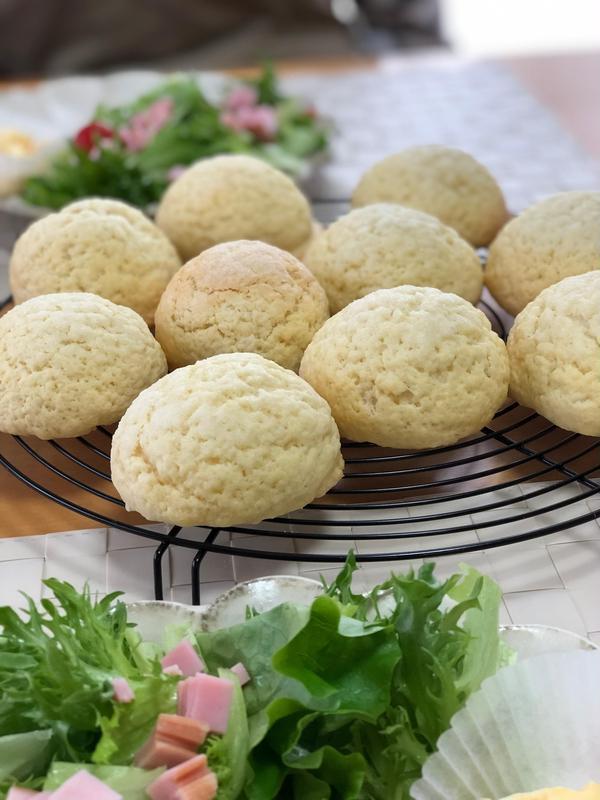 ホシノ丹沢酵母ステップアップ3回レッスン メロンパン