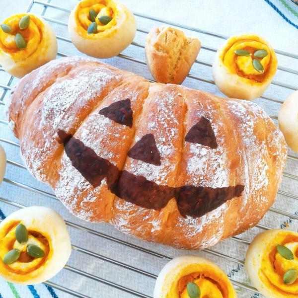 ハロウィンかぼちゃドデカパン