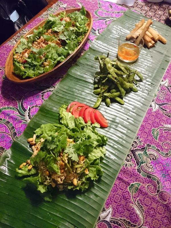 表参道にて タイ料理のおつまみレッスン