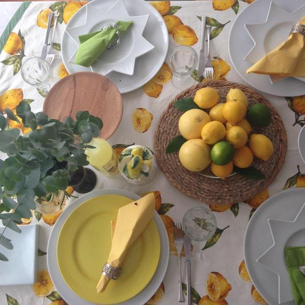 毎年 年に一回レモンを使ったレッスンをしています