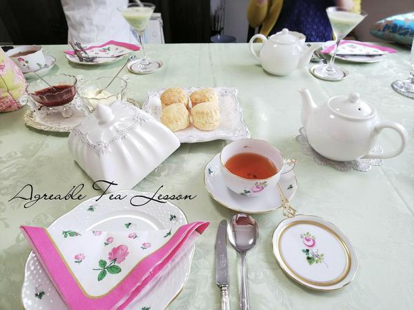 紅茶の基本&スコーンのマナー