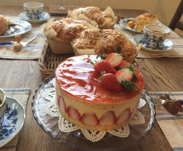 ケーキレッスン フレジエ