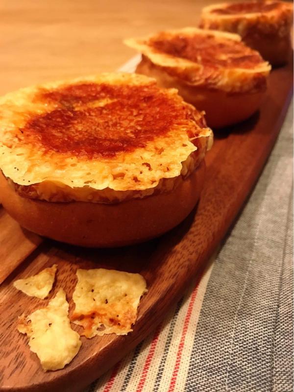 カリカリチーズの焼き カレーパン