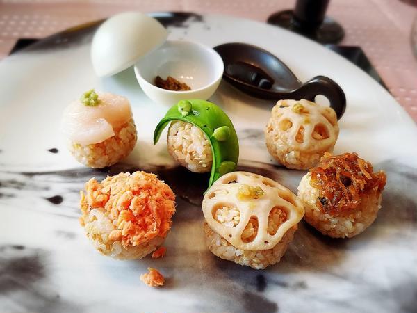 玄米手毬寿司