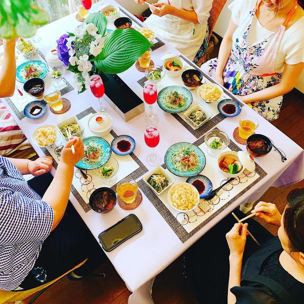 6月日本料理 自分でさばいた鰺は格別です!