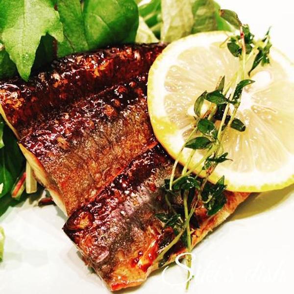 2019,9月【発酵クラス】秋刀魚とタイムのレモンソテー