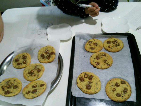配合に苦しみましたが、見事にソフトクッキーのできあがり~