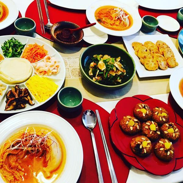 料理教室「お正月の韓国料理」