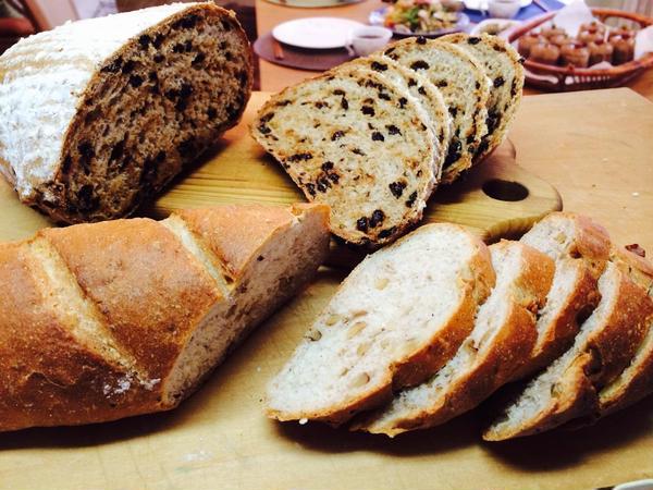 ライ麦を使ったドイツパン