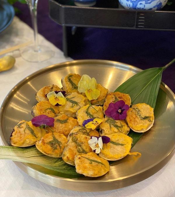 韓国料理レッスン ハマグリのジョン