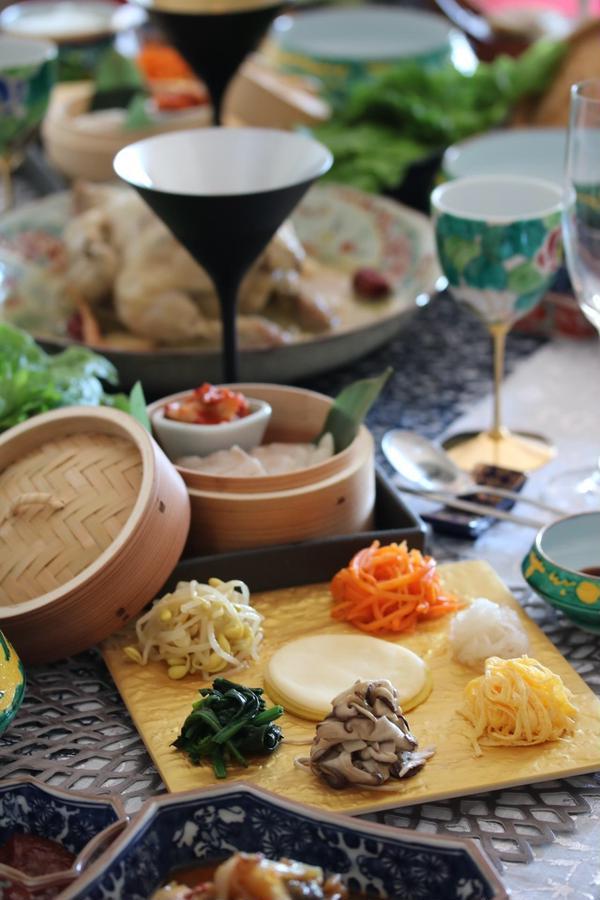 韓国料理レッスンです♪