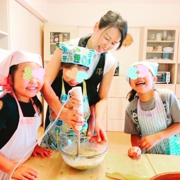 料理中は、みんな笑いが絶えません♡