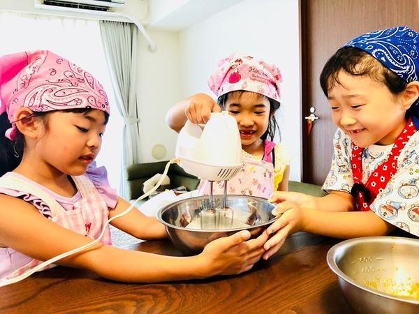 7月栄養アイスクリーム作り