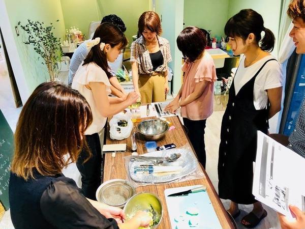 8月出張料理教室の様子