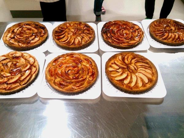 りんごのタルト教室💛生徒様作品 美味しそう💛
