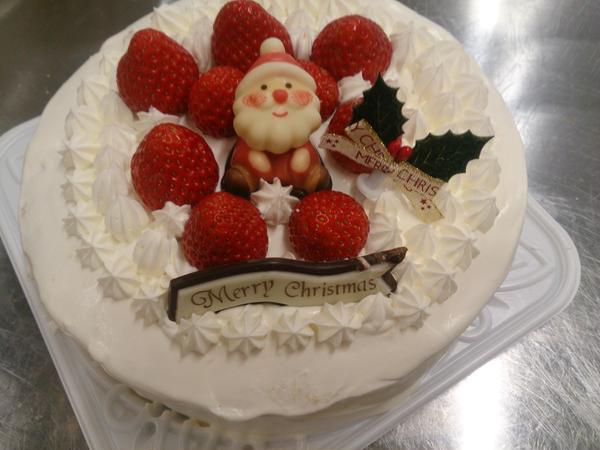 クリスマスケーキ教室🎄生徒様作品-1