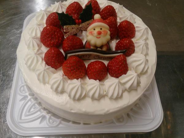 クリスマスケーキ教室🎄生徒様作品-2