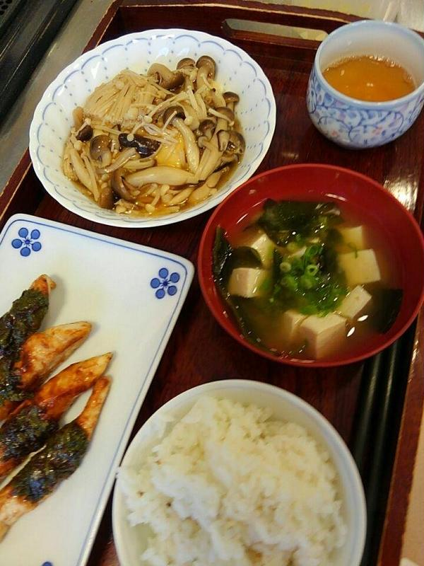 和食で薬膳料理