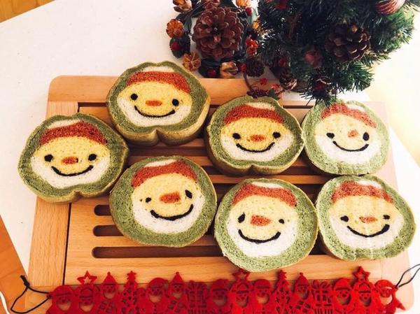 11月〜サンタさんのデコ食パン¥4500