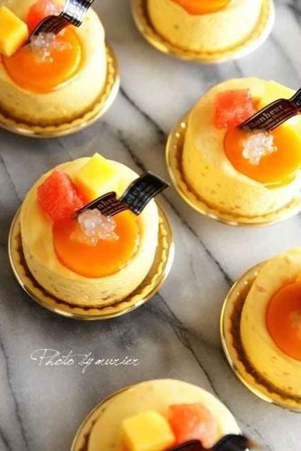 プチガトー楊枝甘露 香港デザートをフランス菓子プチガトーに。