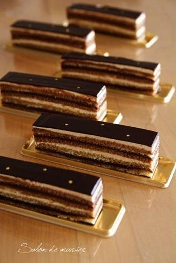 スタイリッシュなオペラ フランス菓子の王道!