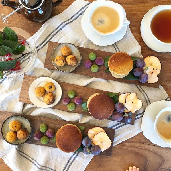 「秋の発酵おやつの会」よりお食事形式再スタートしました!