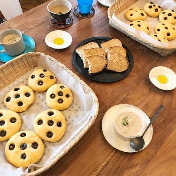 焼き立てパンでランチ!美味しい幸せ時間♪