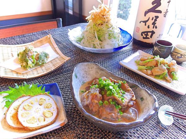 居酒屋料理レッスン【牛すじどて煮、鰯なめろ揚げ】全5品
