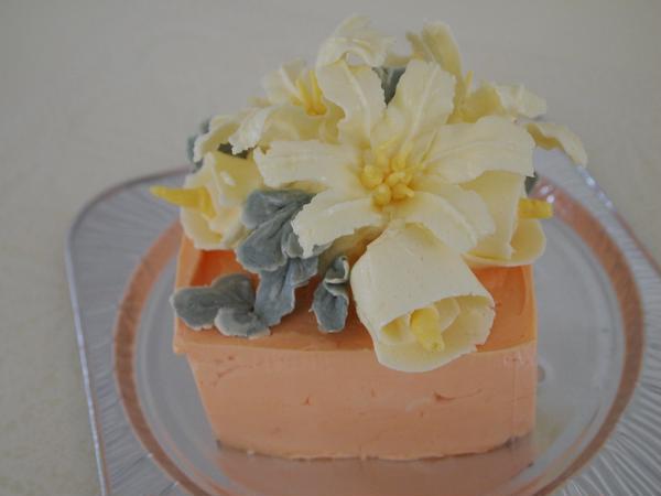バタークリームで作るフラワーケーキ JSA協会認定講師