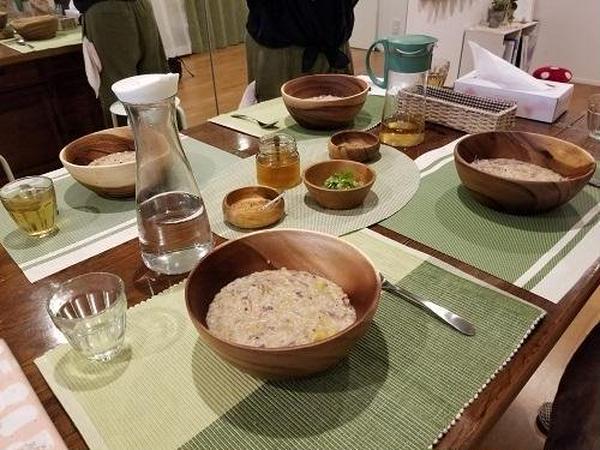 キッチャリーというアーユルヴェーダの養成食も学べます。