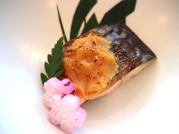 3.4月限定🌸旬のお魚利休焼き
