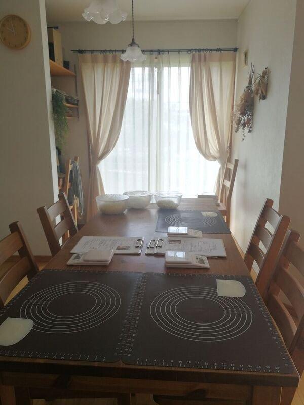 自宅キッチンです