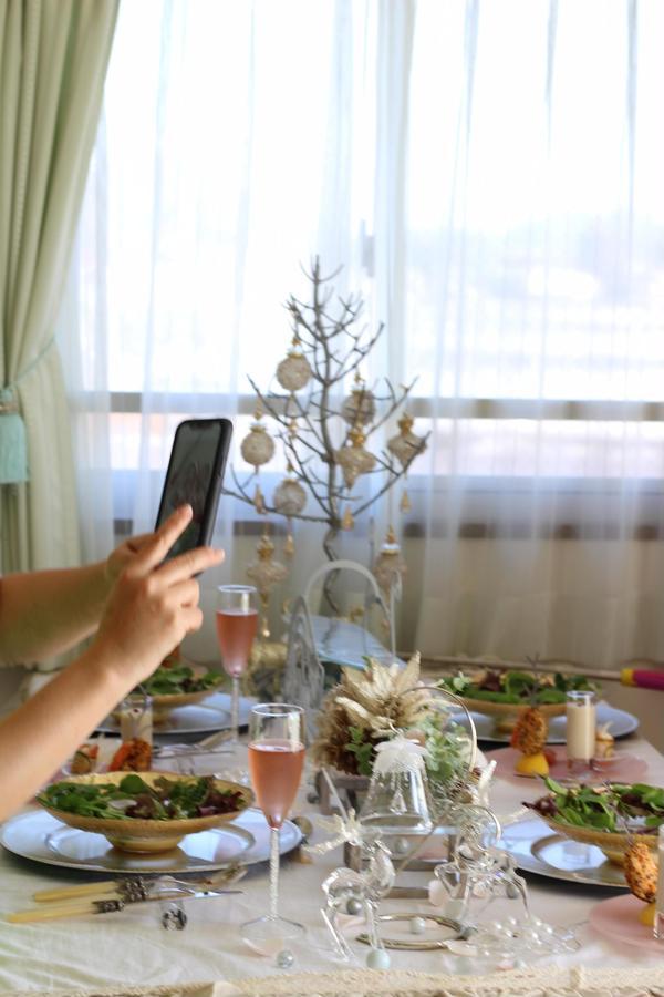 クリスマスレッスンご試食タイム