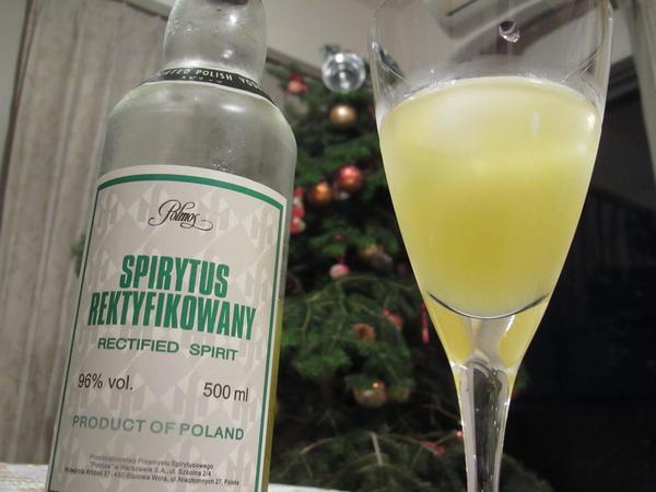 クリスマスは自家製のイタリアのレモンチェッロで乾杯!しました