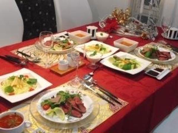 初心者 クリスマス料理教室