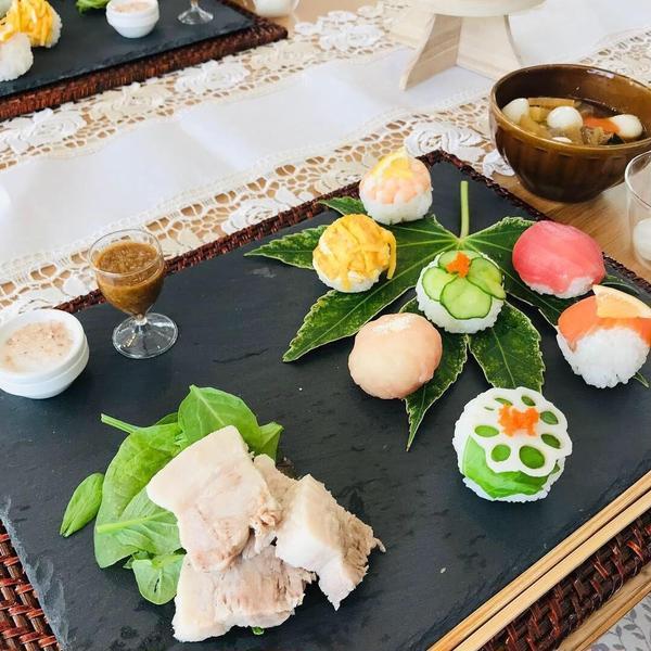 和食の簡単おもてなし料理です。