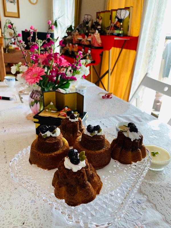 生徒さんへの誕生日プレゼントに、手作りケーキ!