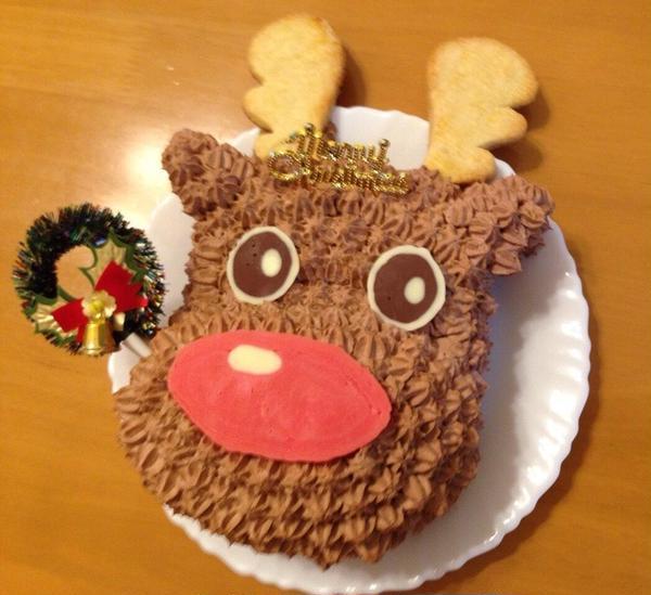 トナカイさんのケーキ