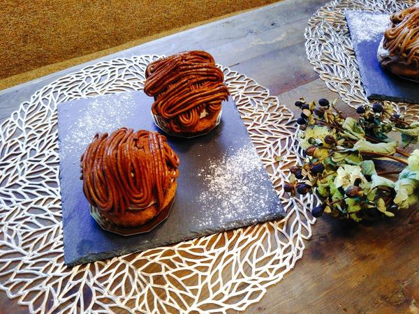 Valentineレッスン チョコレートモンブラン