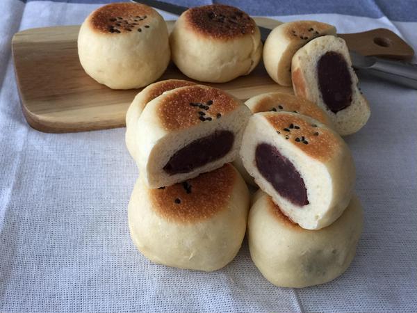 フライパンで焼くあんパンも美味しいですよ♪