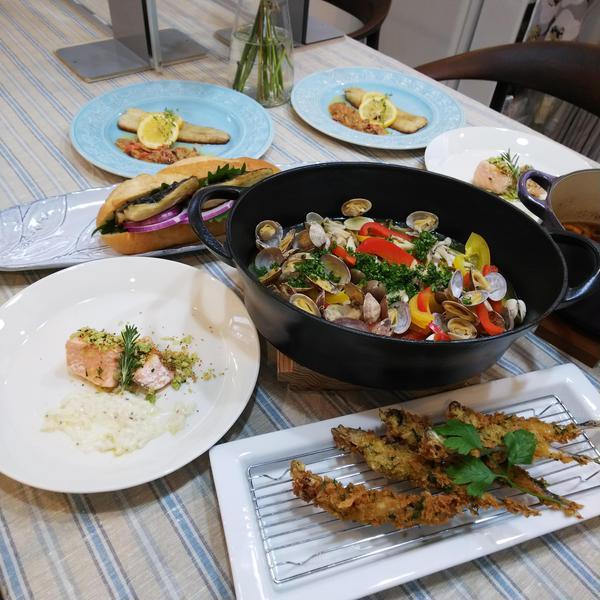 【スペシャルレッスン】2020年 夏 お魚料理づくし
