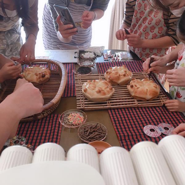 Xmas親子パン教室