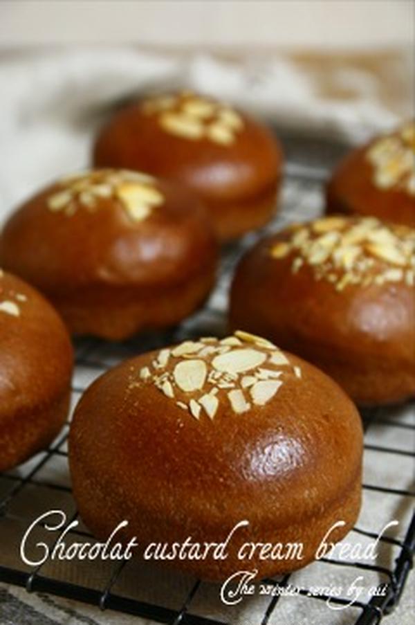 《チョコクリームパン》~春の季節のパンより