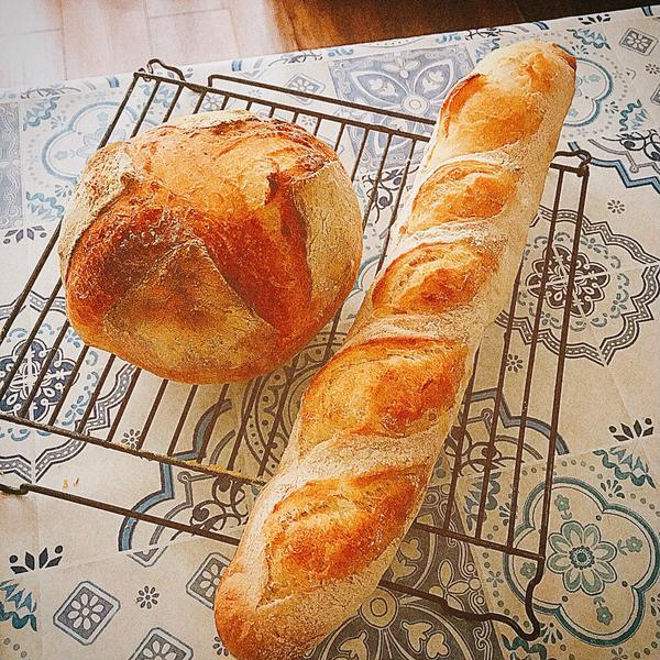 ハード系パン(バタールとカンパーニュ)