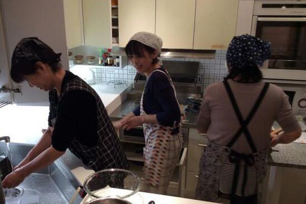 機能的なキッチンで時短料理とじっくりお料理と٩( ´◡` )