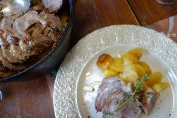 12月豚肉とジャガイモのポットロースト